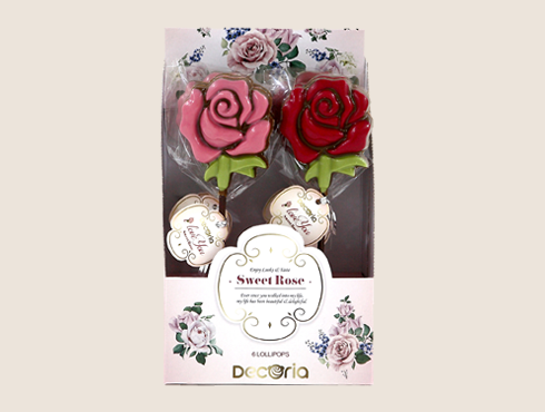 Art. 21114 Sweet Rose Lollipop